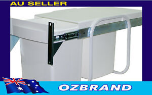 30L Twin Bin Waste Separation System Door Mounted