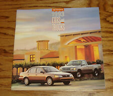 Original 1993 Toyota Car & Truck Full Line Sales Brochure 93 Camry MR2 4Runner