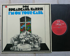"Don ""Sugarcane"" Harris ‎–  I'm On Your Case  Vinyl  LP  MPS BASF Rec. 21 21912-7"