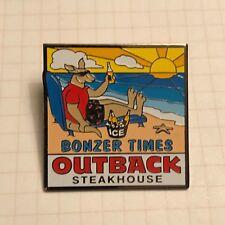 BONZER TIMES KANGAROO ROO Outback Steakhouse Pin Pinback Lapel Pin