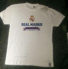 Real Madrid desde 1902 T-Shirt Blanco para Mujer Talla L activo gymwear Casual