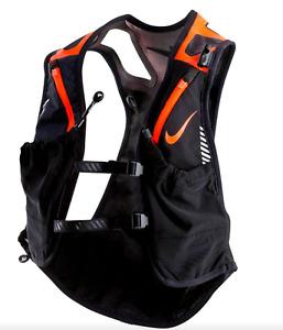 Nike Kiger Trail Hiking running Unisex Black / orange Vest sz Medium retail $185