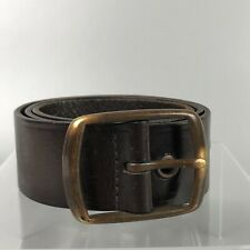 NEXT Mens Brown Real Leather Belt Size S Small 8-10