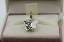 AUTHENTIC PANDORA Fluttering Butterflies, Clear CZ, 791844CZ     #270