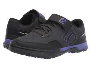 New Women's Five Ten 5.10 by Adidas Kestrel Lace Bike Shoes Size 7 Black/Purple