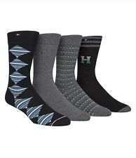 Tommy Hilfiger Men's 4-Pk. Crew Socks Combed Cotton Size 7-12 One Size