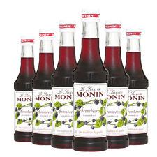 Monin Sirup Brombeere, 0,25L, 6er Pack