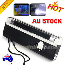 Handheld UV Black Light Flashlight Torch Party Stage Dj Pet Detect Money Verify