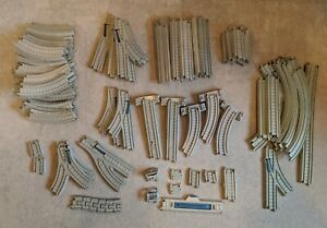 Thomas The Tank Engine Trackmaster Track Large Bundle Brown/Beige 88 Pieces