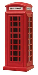Hornby R8580 Skaledale Red Telephone Box 1/76 Scale=00 Gauge Carded 2nd PostONLY