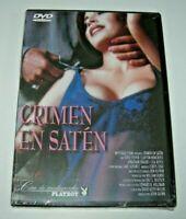 Crimen en Satén - Cine de Medianoche Playboy DVD nuevo precintado