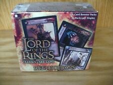 Lord of the Rings TCG 'Reflections' sealed box trading cards