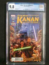 KANAN THE LAST PADAWAN #1, CGC 9.8, 1st App. EZRA BRIDGER, SABINE WREN, Marvel
