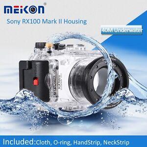 Underwater Waterproof  Housing Camera Case for Sony DSC-RX100 II M 2 Camera