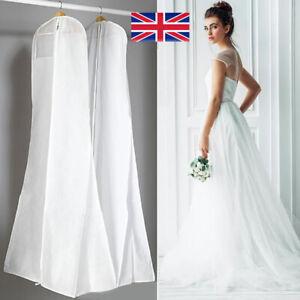 Wedding Bridal Dress Large Garment Cover Gown Storage Dustproof Cover Bag 180cm