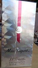 MISS DUPONT  S. T. Dupont Paris  EAU DE PARFUM POUR FEMME   30 ML NEUF SOUS BLIS