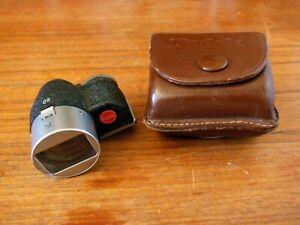 Kodak Retina IIc / IIIc Rangefinder Camera 35mm / 80mm Viewfinder & Case