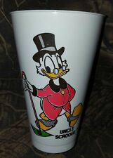 New Vintage Uncle Scrooge Plastic Collector Cup, Pepsi, Comet, Unused, Disney