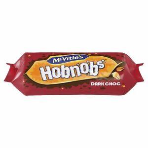 Mcvitie's Hobnobs Dark Chocolate Biscuits 262g - Sold Worldwide from UK