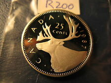 Canada 1987 25 Cent Gem Perfect Coin From Mint Set ID#R200.