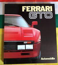 FERRARI 288 GTO / 250 GTO  book FRANCAIS  ANGLAIS Livre de référence Automobilia
