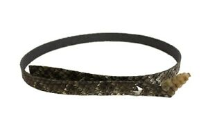 """Rattlesnake Hat Band with Rattle 0.5"""" Wide (598-HB205P1) C4F"""