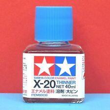 Tamiya #80030 Tamiya Color Enamel Paint X-20 Enamel Thinner (40ml)