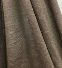 Linen Tencel Luxurious Japanese Knit Drapey Jersey fabric semi-sheer Taupe