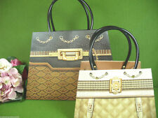 Geschenktasche 2er SET ● Paris ● Geschenktüte Quilted GIFT BAG Sac Cadeau