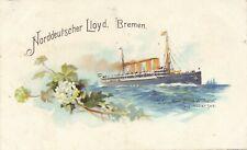 Norddeutscher Lloyd Bremen Kronprinz Wilhelm auf Hoher See – udb (pre 1908)