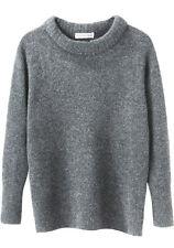 ISABEL MARANT ETOILE 'addyson long sleeve knit' grey jumper sweater wool yak 40