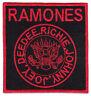 The Ramones Kult Punk-Rock Band Punker Antifa Bügelbild Aufnäher Aufbügler Patch