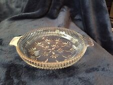 Round Glass Candy Or Dip Dish