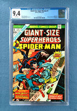 GIANT-SIZE SUPER-HEROES #1 CGC 9.4 NM WHITE PAGES  MARVEL COMICS SPIDER-MAN