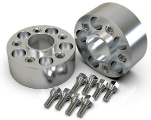 50MM 5X112 66.6MM HUBCENTRIC WHEEL SPACER KIT UK MADE MERCEDES C CLASS