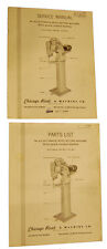 Chicago 912 Riveter Service and Parts Manual