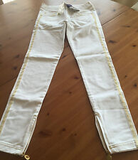 Versace for h&m Cruise Collection Trousers Jeans Size EUR 34 US 4 UK 8