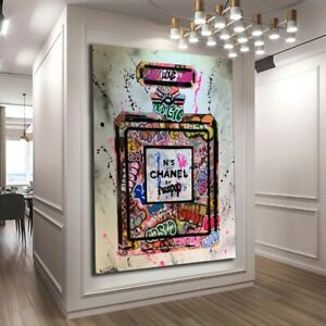 Perfume Art Painting Abstract Canvas Painting Poster for Home Wall Decoration