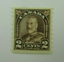 1930 Canada SC #182  KING GEORGE V  2 cent  MH  F-VF stamp