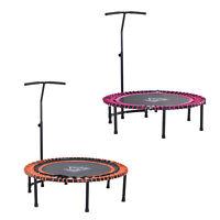 Trampoline Outdoor Bouncer Jumper 3-Level Adjustable Handle Adult Kid -114cm