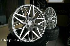 4x20 Zoll 5x112 HAXER Felgen Für Mercedes AUDI VW Konkave Räder Legierung Silber