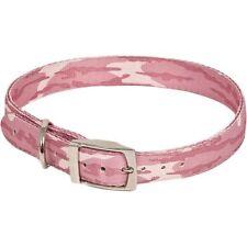 "Ruffmaxx Mossy Oak Bottomland Pink Dog Collar 18-22"" NEW 2 Ply Camouflage"