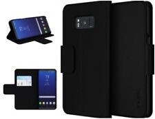 Genuine Incipio Breve Lightweight Wallet Folio Case for Samsung Galaxy S8 Black