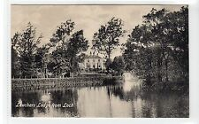 LEUCHARS LODGE FROM LOCH: Fife postcard (C10337)