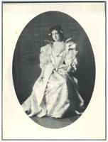 """H. Blancard, France, Portrait de Melle. Rabuteau dans """"Richelieu"""" Vintage print."""