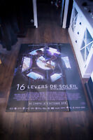 SIXTEEN SUNRISE Thomas Pesquet 4x6 ft French Grande Movie Poster Original 2018