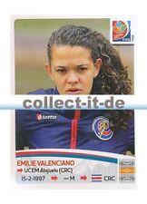 Panini Frauen WM World Cup 2015  - Sticker 397 - Emilie Valenciano