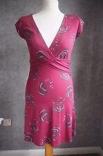Dress 10   Pink & Grey   White Stuff