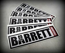 Barrett Firearms Decal .50 Cal 50 BMG Sniper Rifle Tactical AR-15 .308 556 223