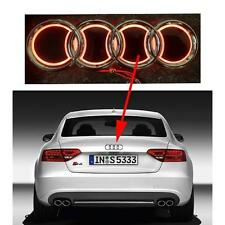 5 D Emblem LED Rear Badge Red 18.5cm x 8.5cm Logo Light Audi A1 A2 A3 A4 A5
